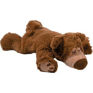 WÄRME STOFFTIER Sleepy Bear braun