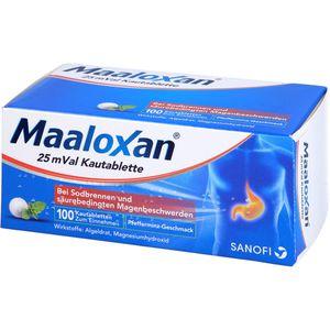 MAALOXAN 25 mVal Kautabletten