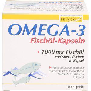 OMEGA-3 Fischöl Kapseln