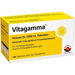 VITAGAMMA Vitamin D3 1.000 I.E. Tabletten
