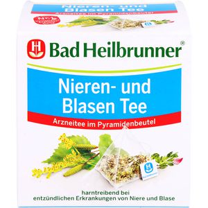 BAD HEILBRUNNER Nieren- und Blasen Tee Filterbeut.