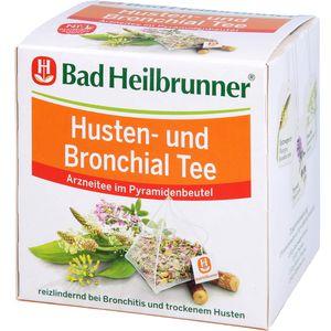 BAD HEILBRUNNER Husten- und Bronchial Tee Fbtl.
