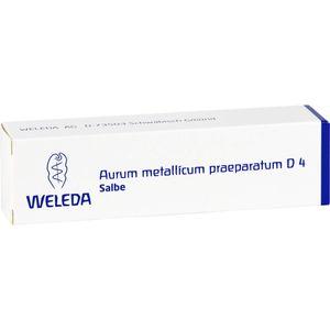 AURUM METALLICUM PRAEPARATUM D 4 Salbe