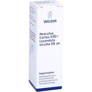 AESCULUS CORTEX D 30/Lavandula D 6 aa Augentropfen