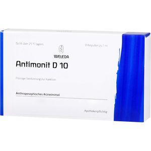 ANTIMONIT D 10 Ampullen