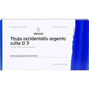 THUJA OCCIDENTALIS ARGENTO culta D 3 Ampullen