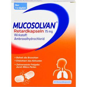 MUCOSOLVAN Retardkapseln 75 mg