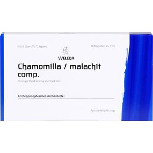 CHAMOMILLA/MALACHIT comp.Ampullen