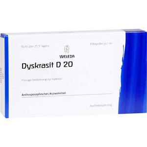 DYSKRASIT D 20 Ampullen