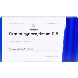 FERRUM HYDROXYDATUM D 6 Ampullen