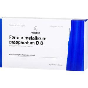 FERRUM METALLICUM PRAEPARATUM D 8 Ampullen
