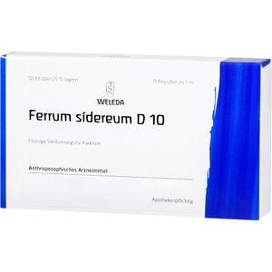FERRUM SIDEREUM D 10 Ampullen