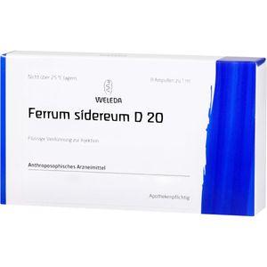 FERRUM SIDEREUM D 20 Ampullen