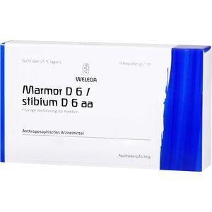 MARMOR D 6/Stibium D 6 aa Ampullen