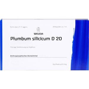 PLUMBUM SILICICUM D 20 Ampullen