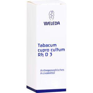 TABACUM CUPRO cultum Rh D 3 Dilution