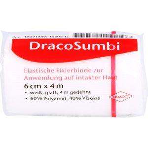 DRACOSUMBI Fixierbinde 6 cmx4 m weiß