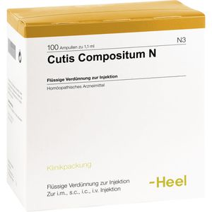 CUTIS compositum N Ampullen