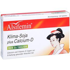 ALSIFEMIN Klima-Soja plus Calcium D3 Tabletten