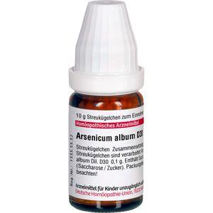 ARSENICUM ALBUM D 30 Globuli