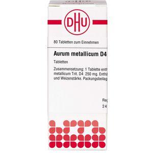 AURUM METALLICUM D 4 Tabletten