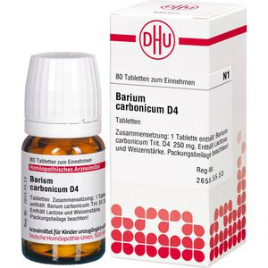 BARIUM CARBONICUM D 4 Tabletten
