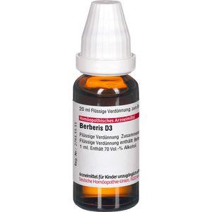 BERBERIS D 3 Dilution