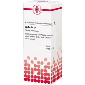 BERBERIS D 4 Dilution