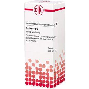 BERBERIS D 6 Dilution