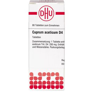CUPRUM ACETICUM D 4 Tabletten