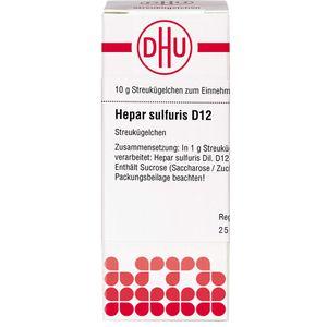 HEPAR SULFURIS D 12 Globuli