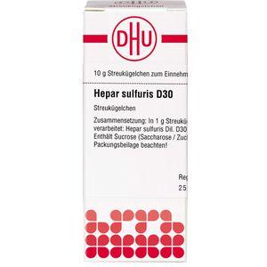 HEPAR SULFURIS D 30 Globuli