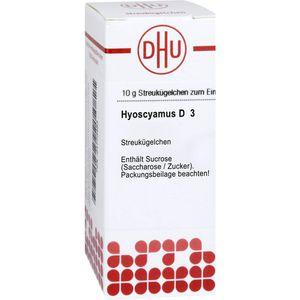 HYOSCYAMUS D 3 Globuli