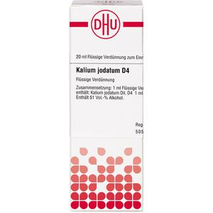 KALIUM JODATUM D 4 Dilution