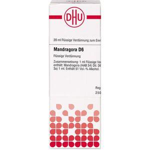 MANDRAGORA D 6 Dilution