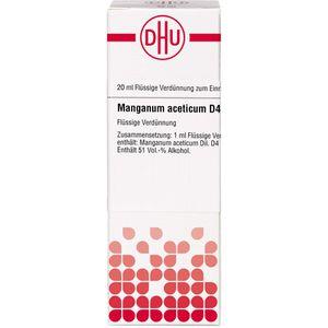 MANGANUM ACETICUM D 4 Dilution
