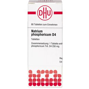 NATRIUM PHOSPHORICUM D 4 Tabletten