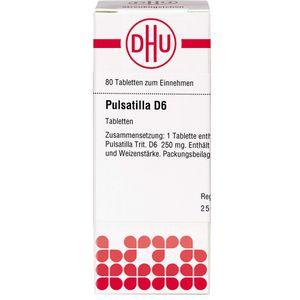PULSATILLA D 6 Tabletten