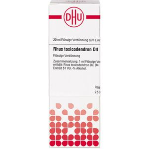 RHUS TOXICODENDRON D 4 Dilution