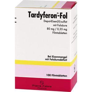 TARDYFERON-Fol Depot-Eisen(II)-sul.m.Fols.Filmtab.