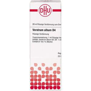 VERATRUM ALBUM D 4 Dilution