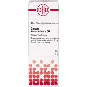 ZINCUM VALERIANICUM D 6 Dilution