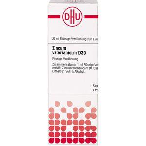 ZINCUM VALERIANICUM D 30 Dilution