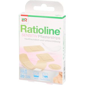 RATIOLINE sensitive Pflasterstrips in 4 Größen