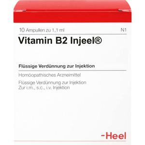 VITAMIN B2 INJEEL Ampullen