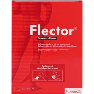 FLECTOR Schmerzpflaster+elatischer Netzstrumpf