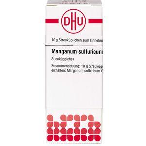 MANGANUM SULFURICUM D 6 Globuli