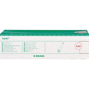 INJEKT Solo Spritze 5 ml Luer exzentrisch PVC-frei