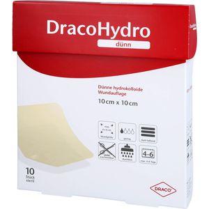 DRACOHYDRO dünn Hydrokoll.Wundauflage 10x10 cm