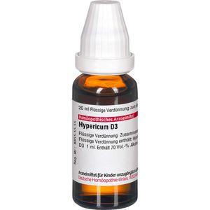 HYPERICUM D 3 Dilution